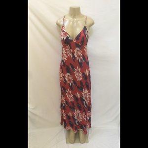 Anthropologie Yumi Kim Sz XXS/S Floral Maxi Dress